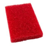 Raudonas, valymui